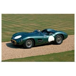 """1957 Aston Martin DBR2 4.2 litre V12 sports racing 2-seater"" Poster Print"