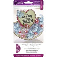 Butterfly Garden - Die'sire Create-A-Card Cut And Emboss Dies