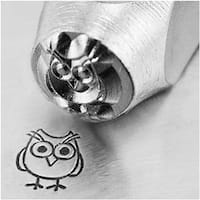 ImpressArt Metal Punch Stamp 'Hootie' 6mm (1/4 Inch) Design - 1 Piece