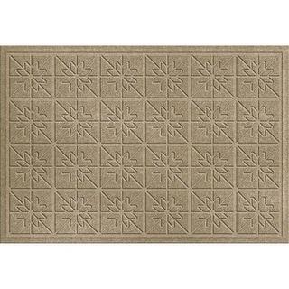 843500023 Water Guard Star Quilt Mat in Camel - 2 ft. x 3 ft.