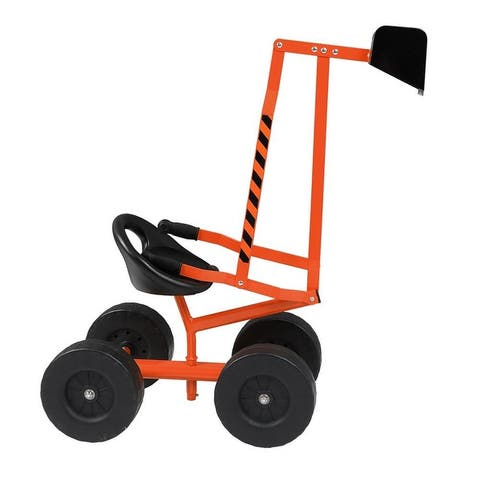Kids Sand Digger Ride On Excavator With Wheels And 360°Rotatable Seat