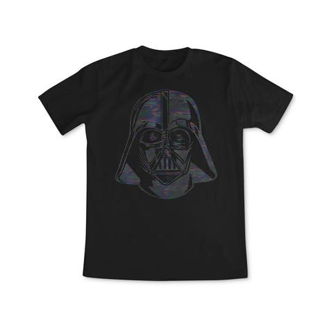 Fifth Sun Mens Psychedelic Vader Graphic T-Shirt, Black, Small