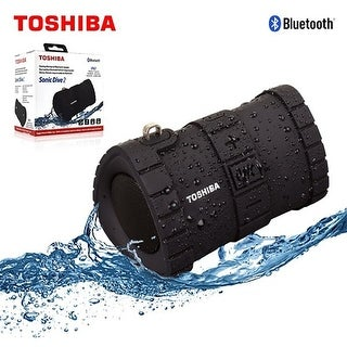 Toshiba Sonic Dive 2 Rugged Floating Wireless Speaker w/ IP67 Rating
