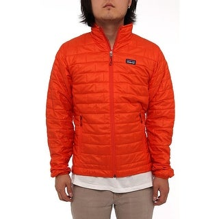 Patagonia Men Men's Nano Puff Jacket Puffer Eclectic Orange