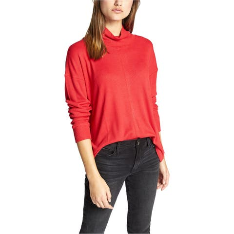 Sanctuary Clothing Womens Waffle-Knit Thermal Blouse