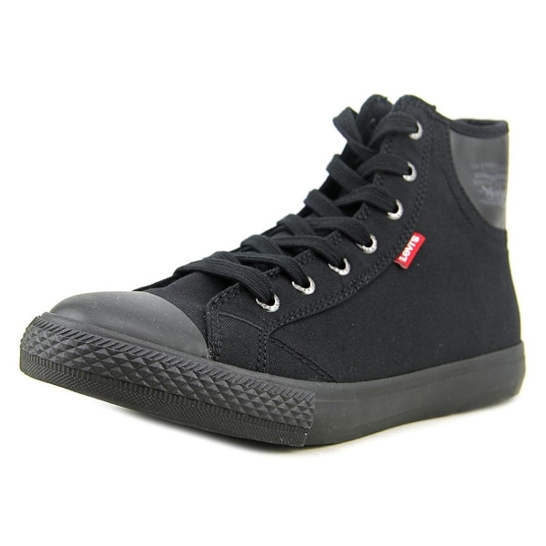 Levi's Hamilton Women Round Toe Canvas Black Sneakers