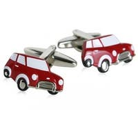 Mini Cooper Car Vehicle Travel Driving Cufflinks