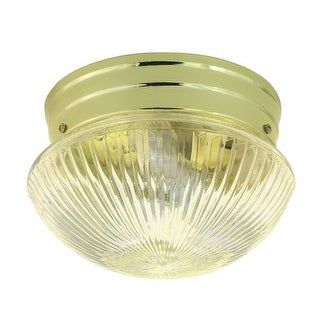 Nuvo Lighting 76/250 1 Light Flush Mount Indoor Ceiling Fixture - 7.5 Inches Wide