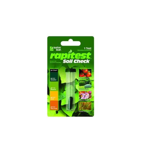 Luster Leaf 1615CS Rapitest Soil Check Test Kit with Clip Strip
