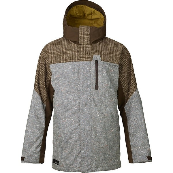 Burton Encore Insulated Snowboard Jacket Mens - mocha menswear