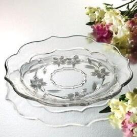 Studio Silversmiths Crystal Platter