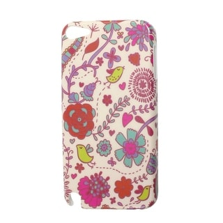 Birds Leaf Floral IMD Hard Plastic Back Case Cover for iPod Touch 5 5G 5th Gen