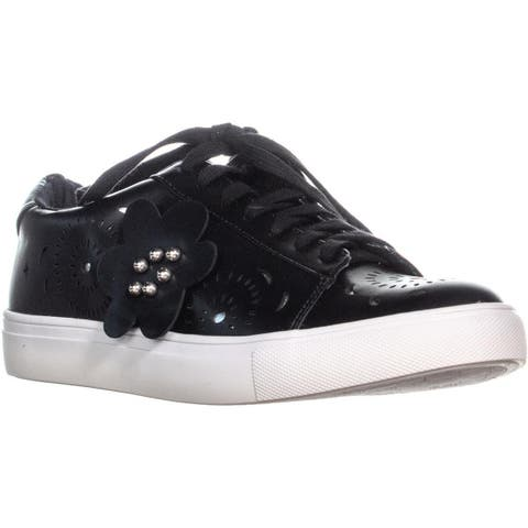 Nanette Lepore Wesley Lace Up Sneakers , Black - 8.5 US