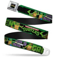 Classic Tmnt Logo Full Color Classic Teenage Mutant Ninja Turtles Logo Seatbelt Belt