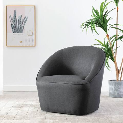 Kotter Home Quinn Barrel Swivel Chair