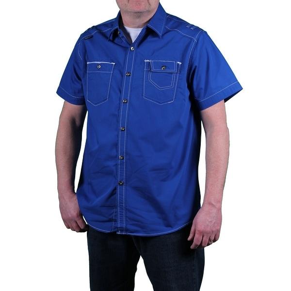 MO7 Men's Poplin Woven Shirt