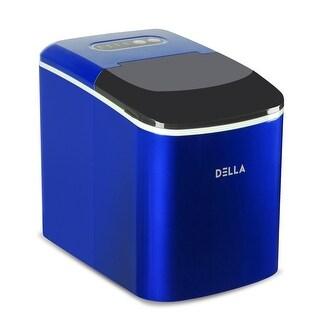 DELLA Compact Ice Maker Machine Freestanding Ice Cube, Blue