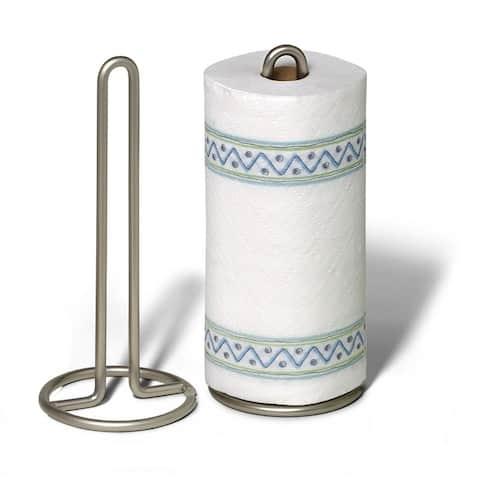Spectrum 41078 Euro Paper Towel Holder, Satin Nickel