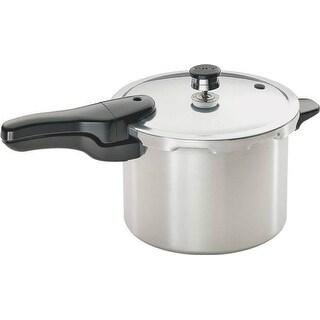 Presto 01264 Pressure Cooker, Aluminum, 6 Quarts