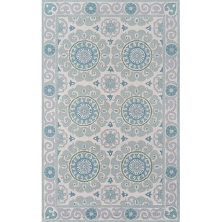Link to Momeni Suzani Hook Hand Hooked Wool Traditional Area Rug Similar Items in Rugs