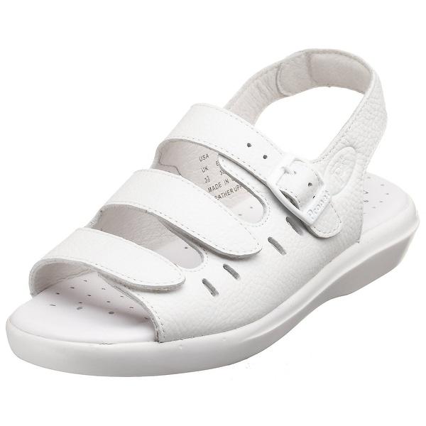 Propét Womens BREEZE WALKER Leather Open Toe Casual Sport Sandals