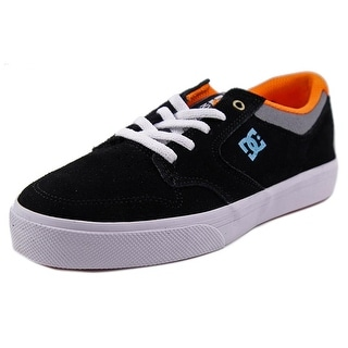 DC Shoes Nyjah Vulc Round Toe Leather Sneakers