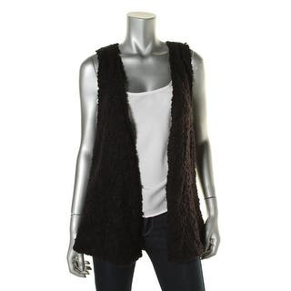Kensie Womens Vest Sherpa Open Front|https://ak1.ostkcdn.com/images/products/is/images/direct/83ed99c670f07e235fbbc8d8d95591fbb8c0e745/Kensie-Womens-Sherpa-Open-Front-Vest.jpg?impolicy=medium