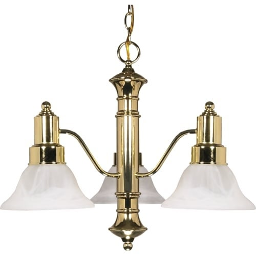 "Nuvo Lighting 60/194 Gotham 3 Light 22-1/2"" Wide Chandelier"