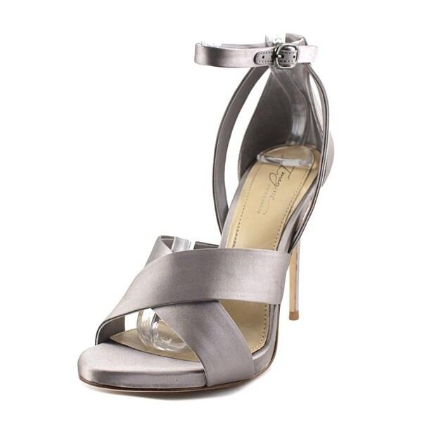 Imagine Vince Camuto Dairren Women Open Toe Canvas Gray Sandals