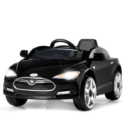 6V Kids Ride On Car w/ Parent Control MP3 Music LED Lights Horn 3