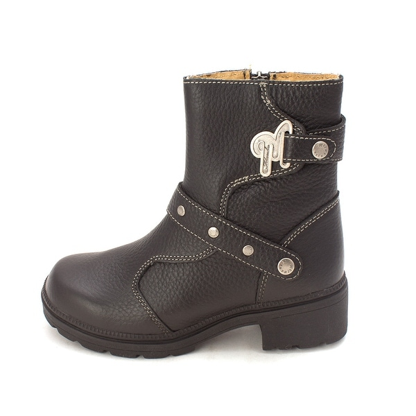 Milwaukee Motorcycle Clothing Company Womens Delusion Leather Closed Toe Ankl...