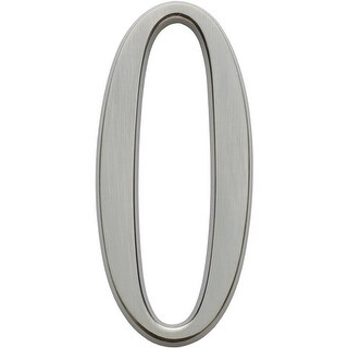 Whitehall Classic Polished Nickel 6 Inch Number 0