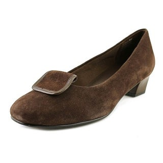 David Tate Ariana  W Round Toe Suede  Loafer