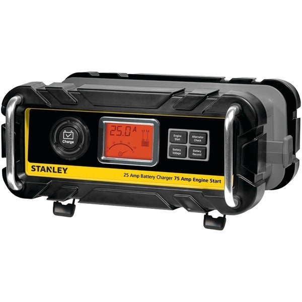Stanley Bc25Bs Battery Charger With Engine Start (25-Amp Charger, 75-Amp Starter)