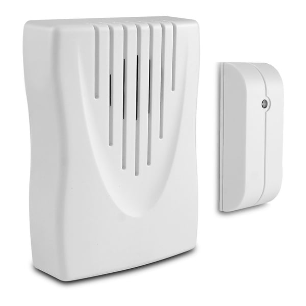 Knock Knock Wireless Door Chime with Vibration Smart Sensor