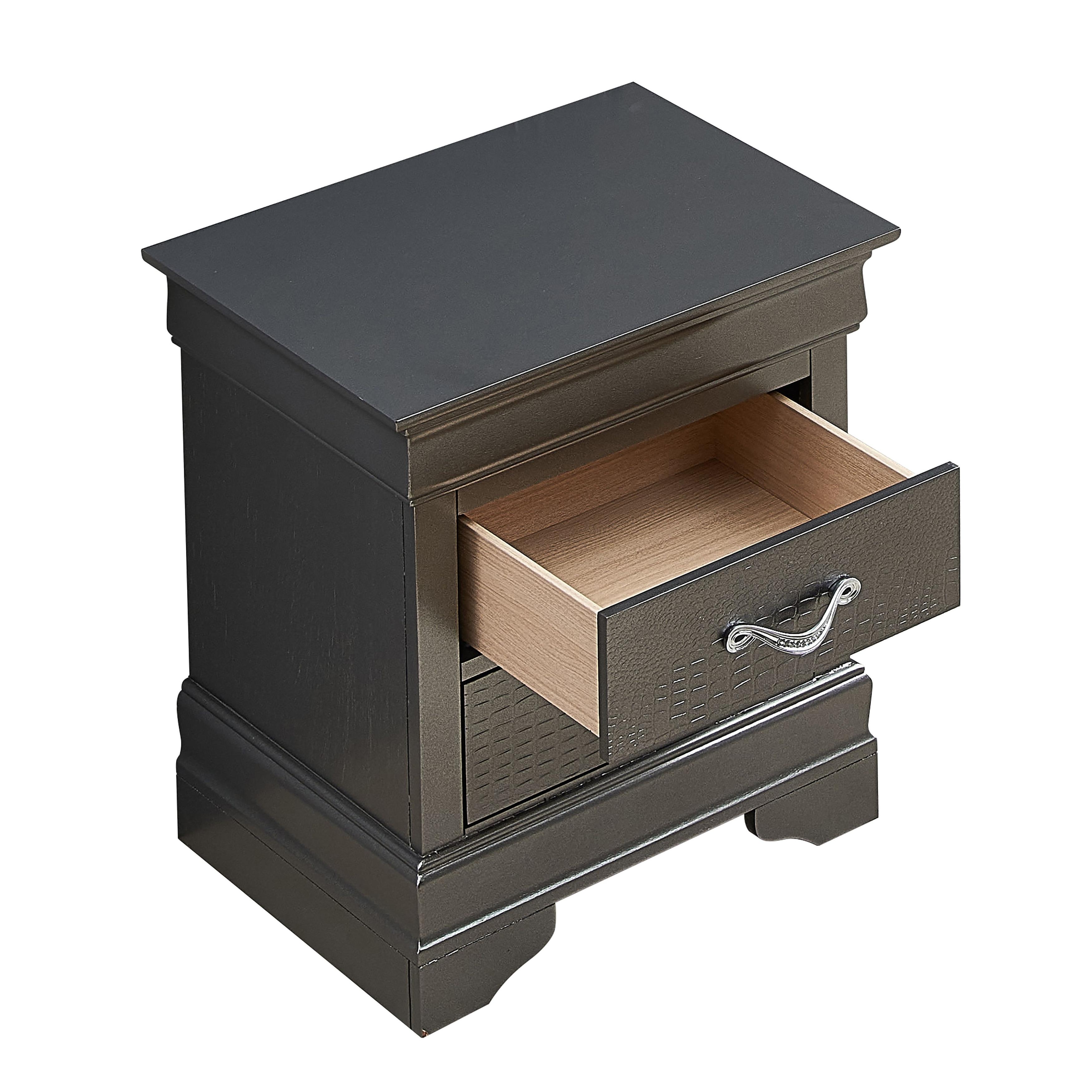 Lorana 2 Drawer Wooden Nightstand Overstock 20652427