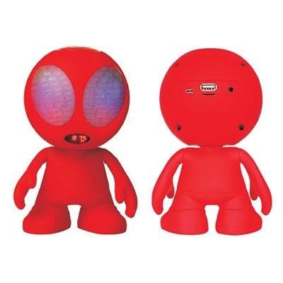 Supersonic - Sc-1453Btrd - Alien Bt Speaker Red