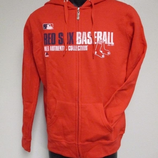 official photos 100e6 5bd6d Boston Red Sox Adult Womens Size M Medium Majestic Hoodie-Jacket