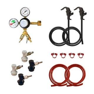 Kegerator.com 43-0162-00 Two Keg Homebrew Conversion Kit