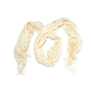 In a Pinch Faux Pashmina Scarf or Shawl with Fringe