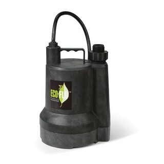 Eco-Flo SUP55 Utility Pump, Thermoplastic, 115 Volts
