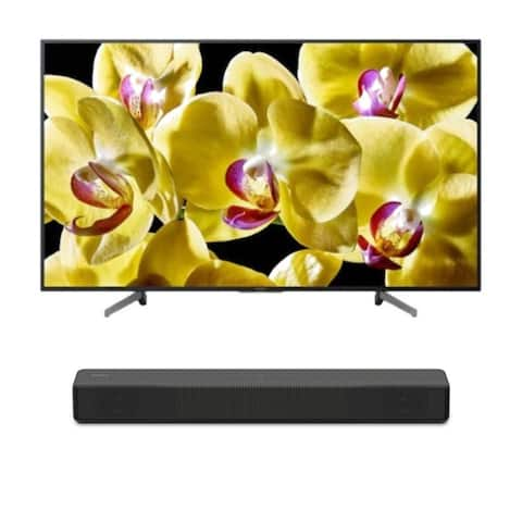 "Sony BRAVIA X800G 55"" Class 4K Ultra HD HDR Smart LED TV with Soundbar"