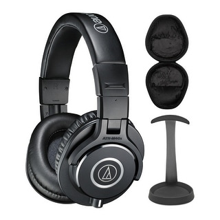 Link to Audio-Technica ATH-M40X Professional Headphones w/ Stand & Case Bundle Similar Items in Headphones