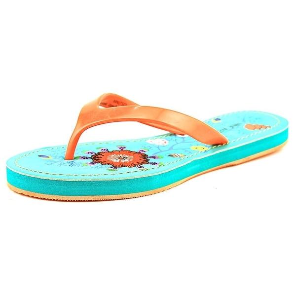 Nine West Nutso Women Orange Sandals