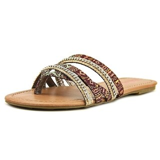 Pink & Pepper Solace Women Open Toe Canvas Sandals