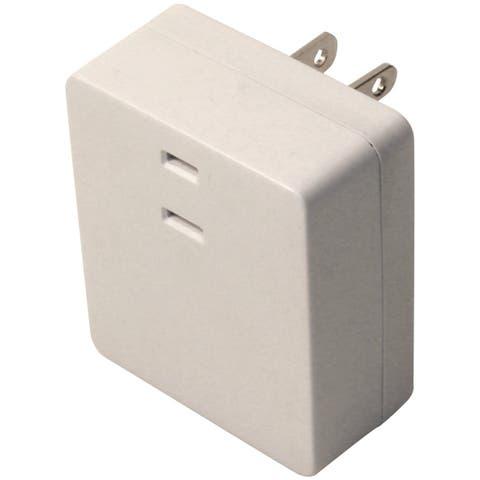 Westek 6004B Plug-In Touch Dimmer, White