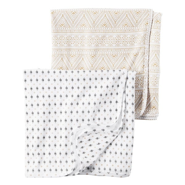 90a9a3f93 Shop Carter's Baby Girls' Little Traveler Swaddle Blankets, One Size - Free  Shipping On Orders Over $45 - Overstock.com - 17870945