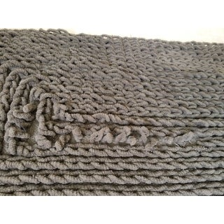 Shop Vcny Barron Cotton Chenille Bath Rug On Sale Free