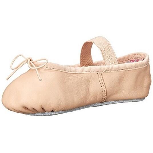 Capezio Little Girls Whole-Sole Daisy Ballet Shoe, Ballet Pink, 7M