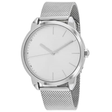 Just Cavalli Men's Forte Silver Dial Watch - JC1G079M0045 - One Size